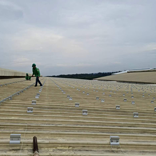 7.5MW Metal Roof Mounting Project in Vietnam 2020